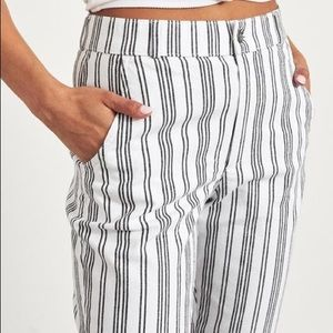 NEW Hollister Striped Pants